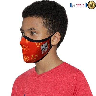 Comfortable, stylish, fashionable re-usable dust mask - Red Devil