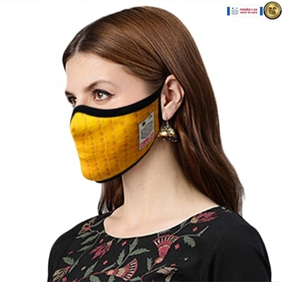 Comfortable, stylish, fashionable re-usable dust mask - Snap me up