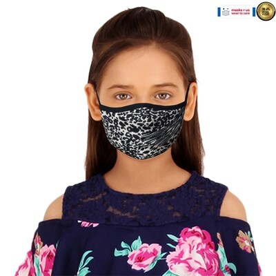 Comfortable, stylish, fashionable re-usable dust mask - Spots Alive