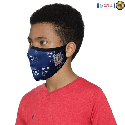 Comfortable, stylish, fashionable re-usable dust mask - The Cockerels