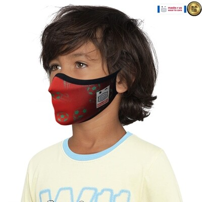Comfortable, stylish, fashionable re-usable dust mask - The Reds