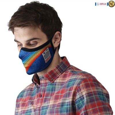 Comfortable, stylish, fashionable re-usable dust mask - Xanadu