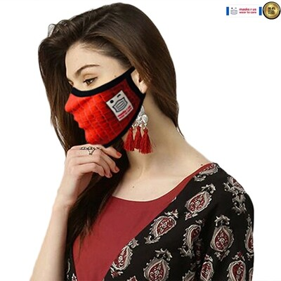 Comfortable, stylish, fashionable re-usable dust mask - Who me too
