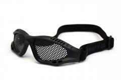 NP SHADES Mesh Eye Protection Black/Camo/Green/Grey/Tan (Small)
