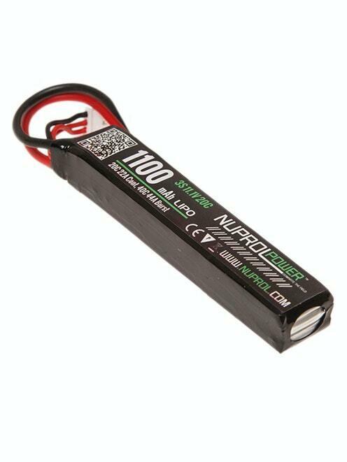 NP Power 1100mAh LiPO 11.1V 20C Stick - Deans