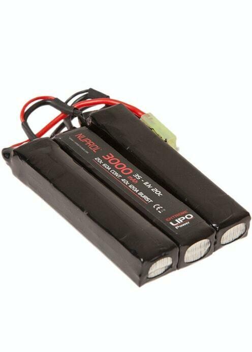 NP Power 3000mAh LiPO 11.1V 20C Triplet - Deans