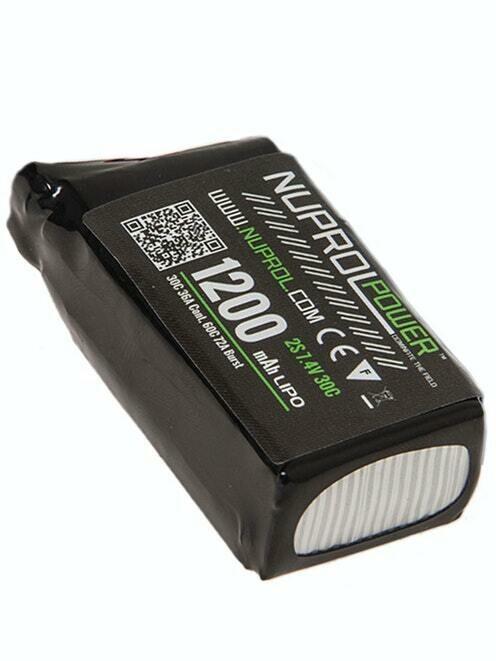 NP Power 1200mAh LiPO 7.4V 30C PEQ Deans