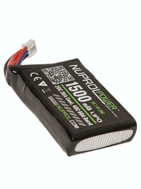 NP Power 1500mAh LiPO 7.4V 20C stick PEQ - Deans