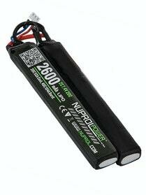 NP Power 2600mAh LiPO 7.4V 20C Nunchuck - Deans