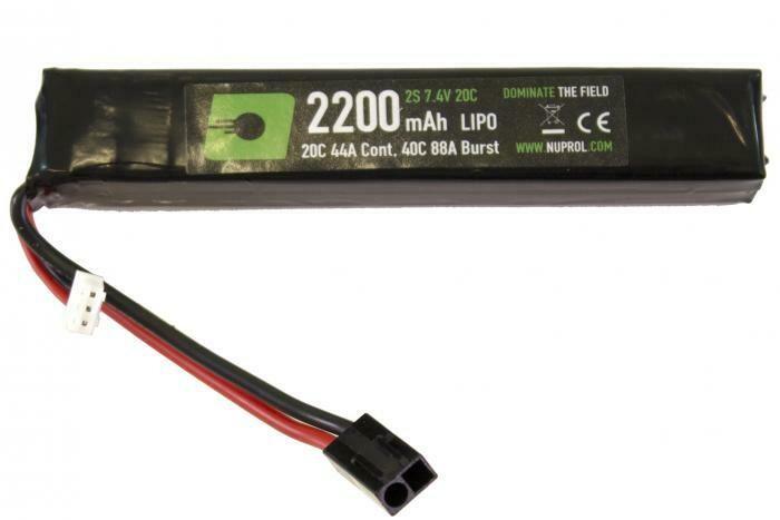 NP Power 2200mah 7.4v LiPo Stick