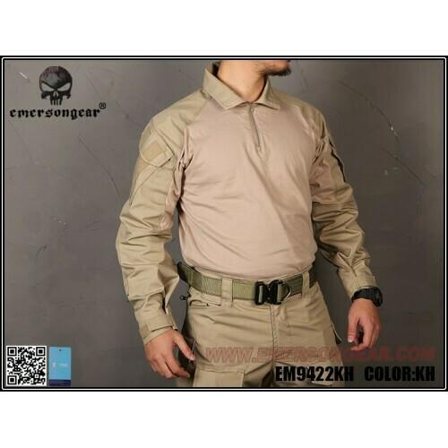 Emerson Gear G3 combat shirt - Khaki- XXL/XL/L/M/S