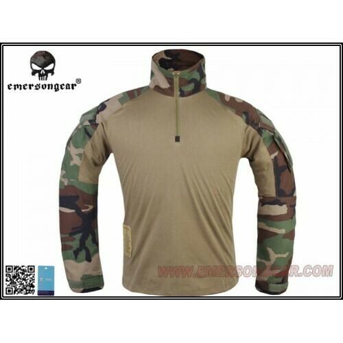 Emerson Gear G3 combat shirt - Woodland - XXL/XL/L/M/S