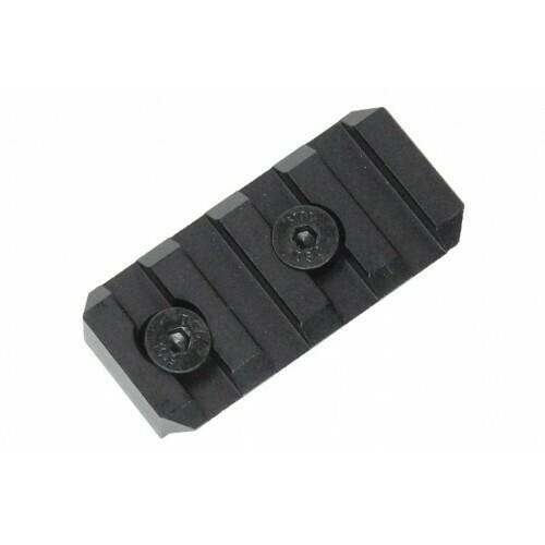 Oper8 4 slot Keymod Rail section- Black/Dark Earth