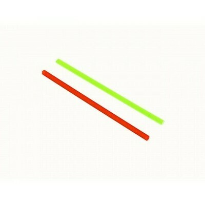 Cow Cow 2mm Red & Green Fiber Optic Rod (50mm)