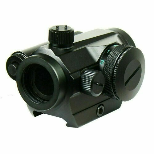 T1 style sight with Red Lsser 1x22