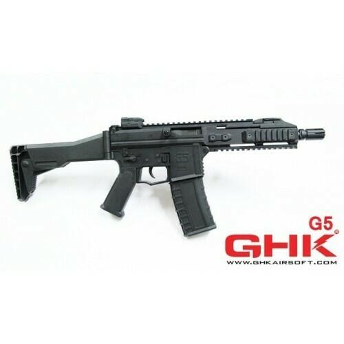 GHK G5 GBB Airsoft Rifle - Black