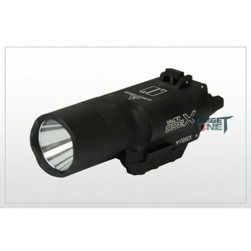 FMA Target one SFX300U Pistol Flashlight - Black