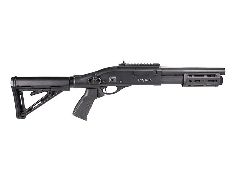 Secutor M870 Velites Invicta Gas Shotgun (M-lok - G-III - Black)