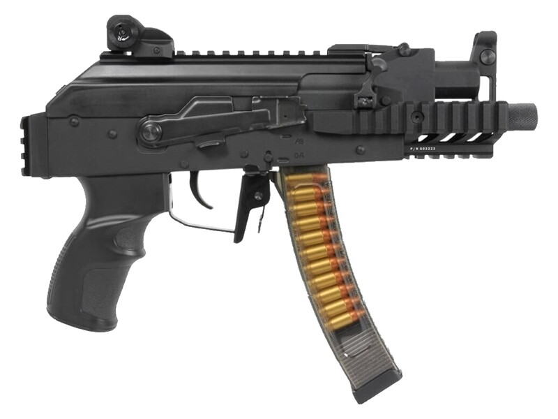 G&G AK PRK9 AEG (Black - GRK-9MM-ETU-BNB-NCM)