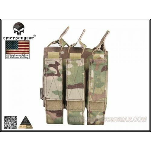 Emerson Gear Triple MP7 mag pouch - Multicam by Emerson Gear