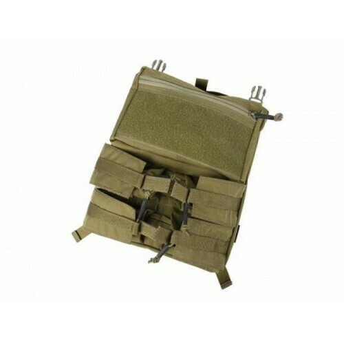 TMC Assault Back Panel for 420 Plate carrier - Khaki by TMC Brand: TMC