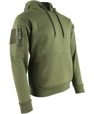 Tactical Hoodie Olive Green