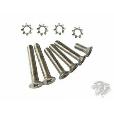 ZCI Screw set for v3 gear box - Stainless by ZCI