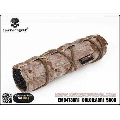 Emerson Gear Airsoft 18cm Suppressor Cover - AOR1