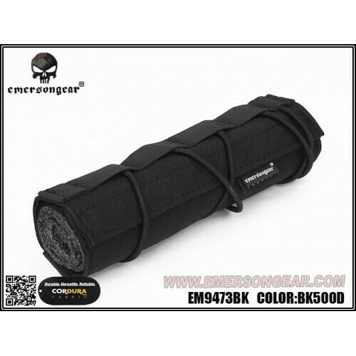 Emerson Gear Airsoft  Suppressor Cover - Black