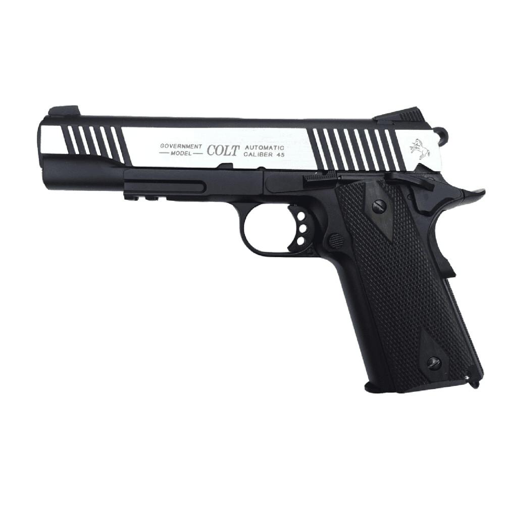 CYBER GUN Colt 1911 Dual Tone Black/Silver CO2 Pistol