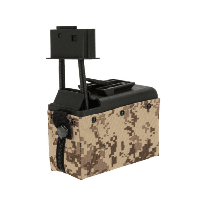 YOU MAY ALSO BE INTERESTED IN CYBER GUN Box Magazine for A&K M249 1500rnds - Desert Digital