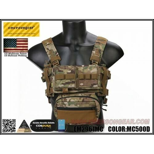 Emerson gear Micro Fight Chassis MK3 Chest Rig - MultiCam by Emerson Gear
