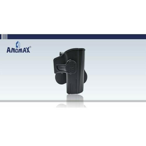 Amomax CZ Shadow 2 (ASG Shadow 2) Plastic Holster - BK