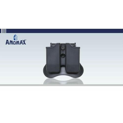 Amomax Beretta 92, Sig Sauer P226 Series, P320, CZ P09 Plastic Holster - BK