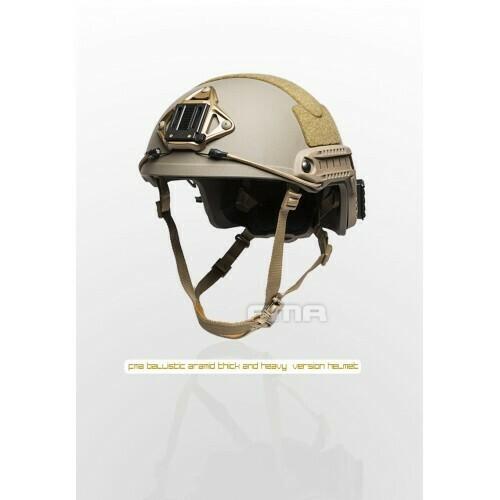 FMA Fast Helmet - (Heavy Version) - L/XL Dark Earth