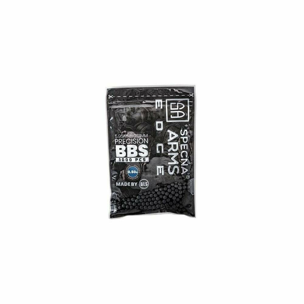 SPECNA ARMS 0.50g EDGE Precision BBs - 1000 pack (Chaos Grey)