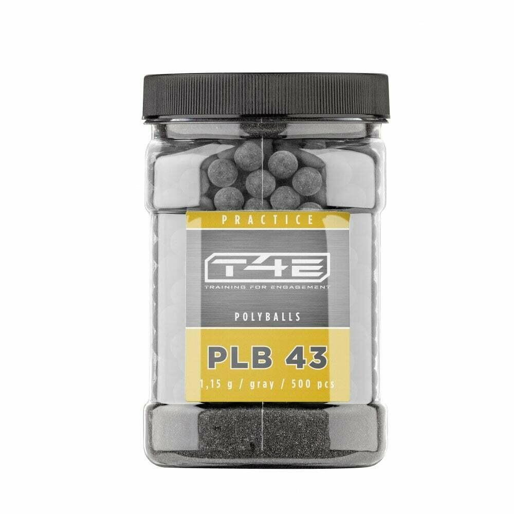 UMAREX T4E Performance PLB43 0.43Cal Plastic Ball Ammunition - 500pce
