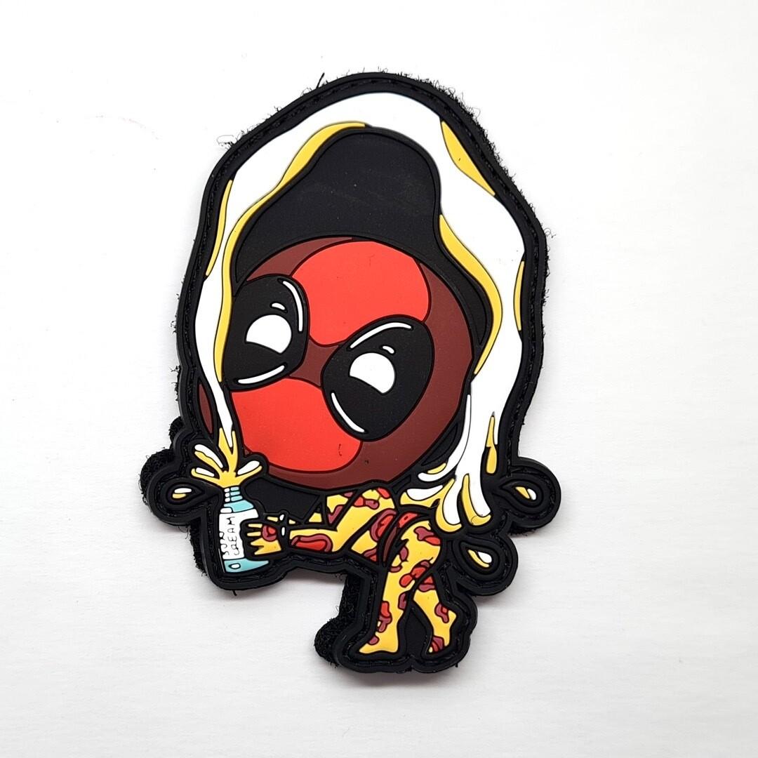 Cheeky Deadpool PVC Patch