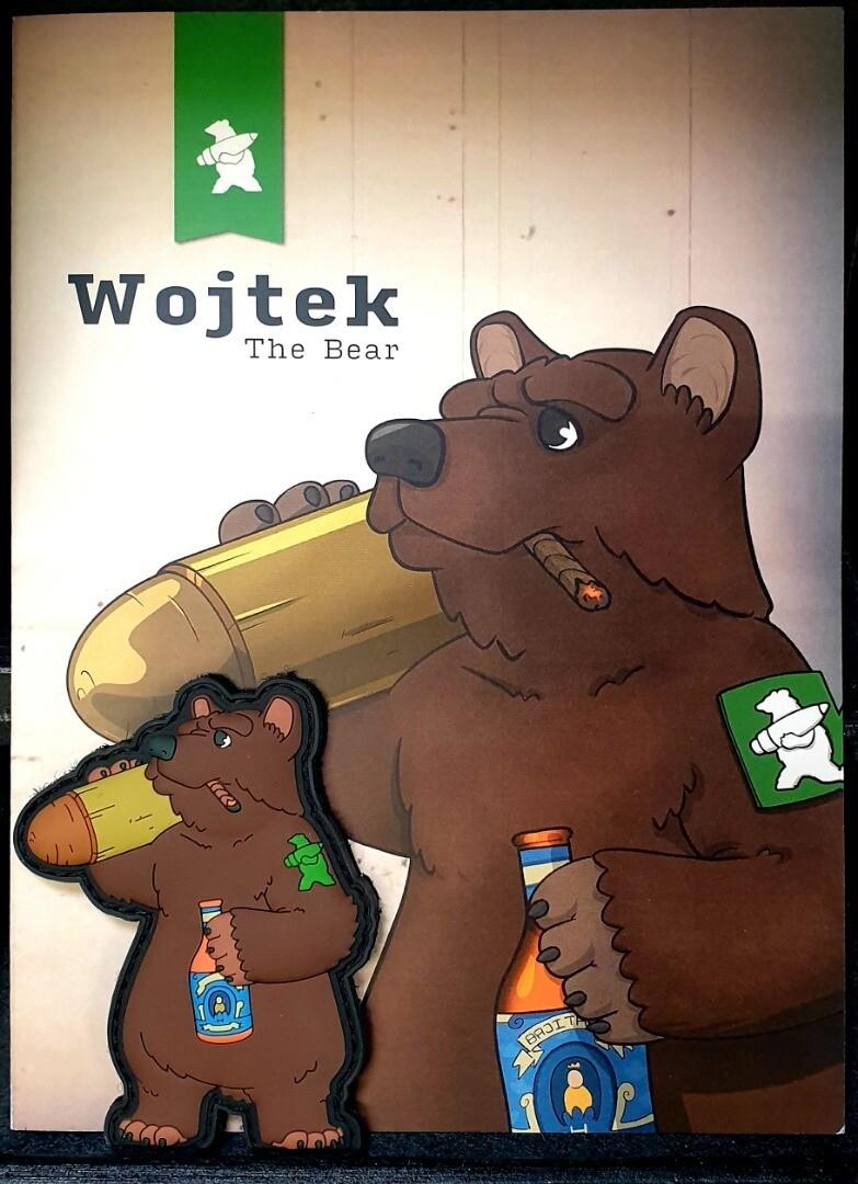 Hiwez Wojtek Bear PVC Patch #H009