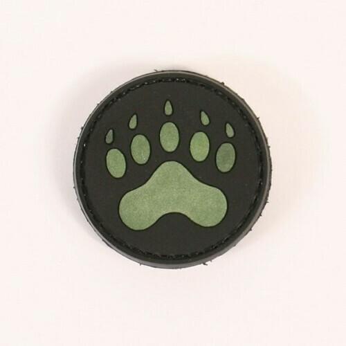 Blackwater bear paw glow in the dark patch by ACM