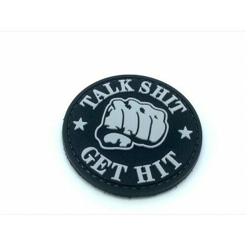Talk Sh*t Get Hit morale patch by WBD Airsoft