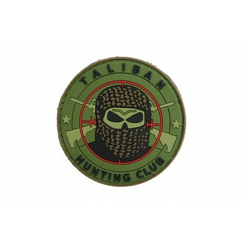 Taliban Hunting Club (Green) Morale Patch by ACM