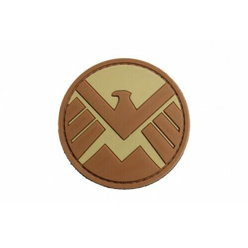 Marvel Shield (Tan) Morale patch by ACM