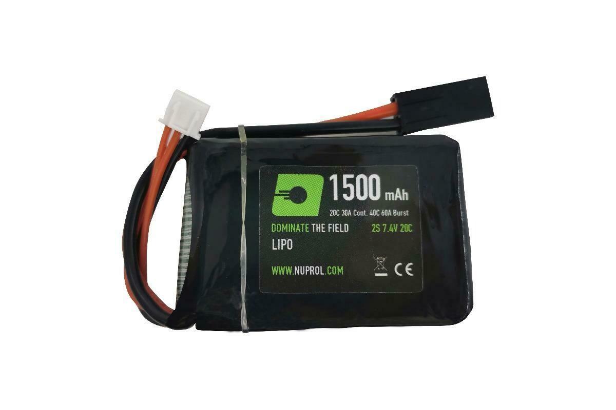 NP Power 1500mah 7.4v 20c PEQ Micro Lipo