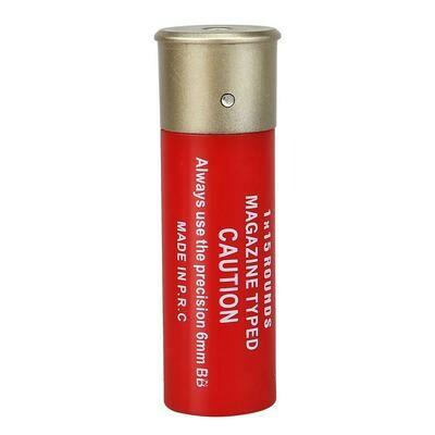 NUPROL 15RND SHOTGUN SHELLS X6 - RED