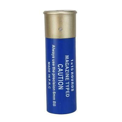 NUPROL 15RND SHOTGUN SHELLS X6 - BLUE