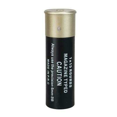 NUPROL 15RND SHOTGUN SHELLS X6 - BLACK