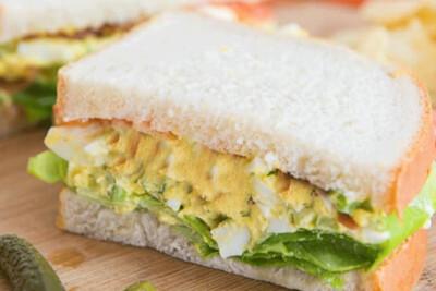 Egg Bacon Sandwich