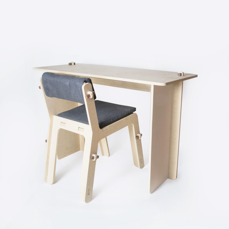 KIT Silla/Escritorio - Muebles Para Cuerentena