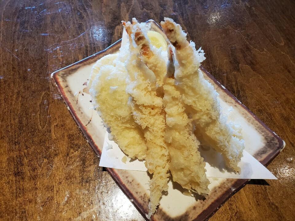 Prawn & Sweet Potato Tempura